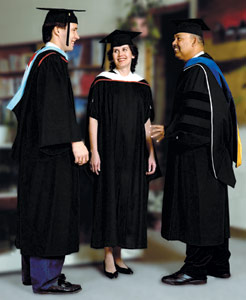 doctoral gowns