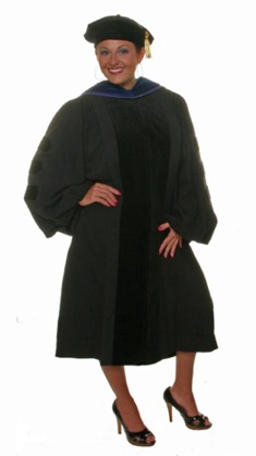 doctoral robe